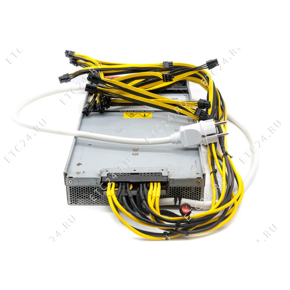 Astec 2880W (6Pin=20шт) 18AWG For ASIC