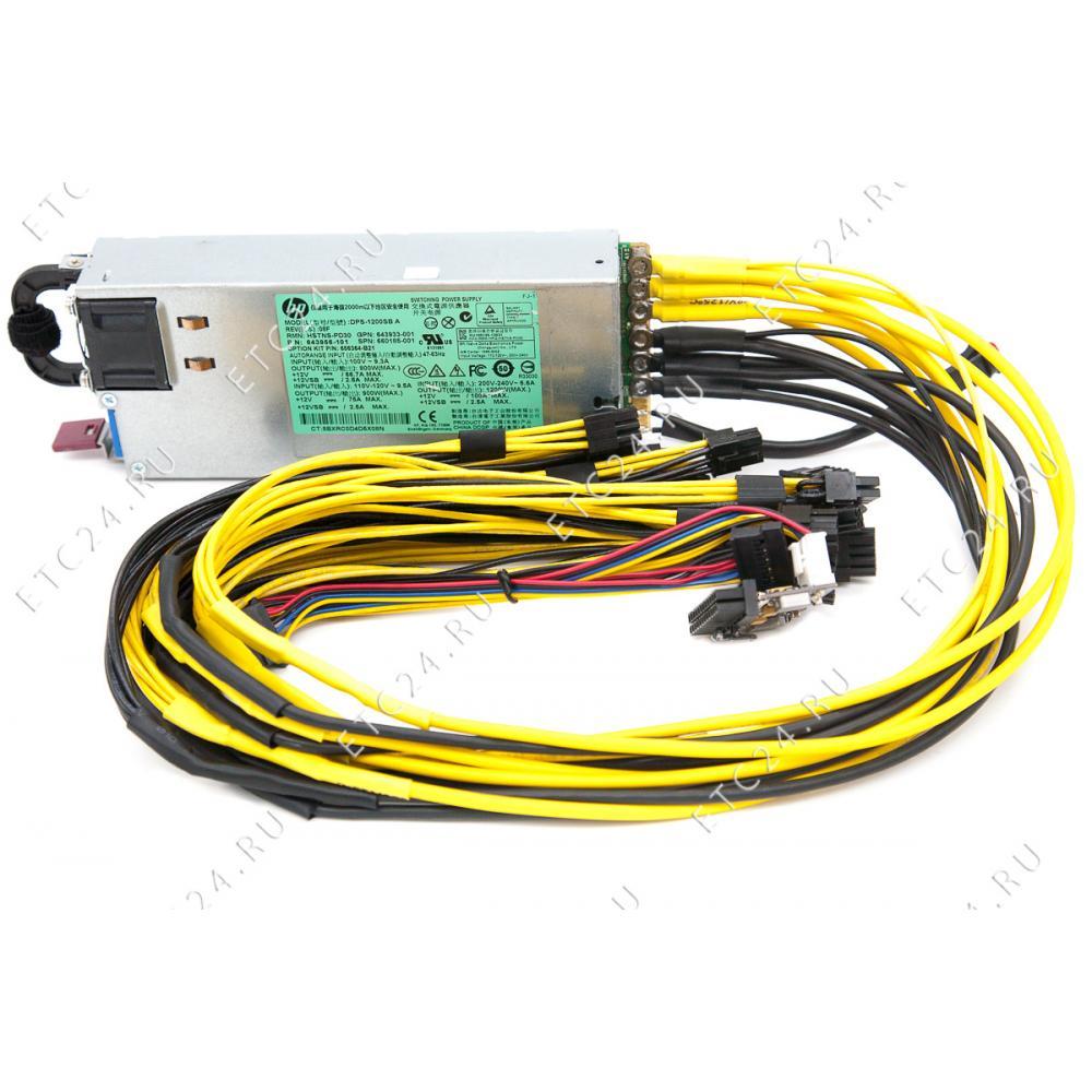 HP DPS-1200FB A (1200W) Для 6 Видеокарт