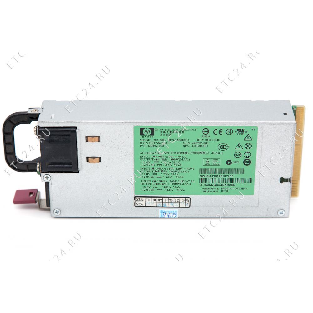 Блок питания HP DPS-1200FB A (1200W)